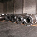 cold rolled coils stored in port of Rijeka