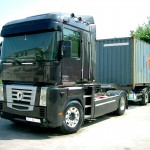 road transport of containers