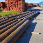 prime new seamless steel tubes in port of Rijeka
