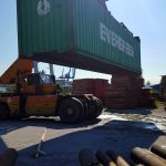 relocation of a container