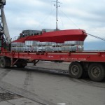 electrolitic tinplate sheets in port of Rijeka